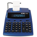 Victor VCT12253A 1225-3a Antimicrobial Two-Color Printing Calculator, Blue/red Print, 3 Lines/sec