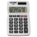VICTOR TECHNOLOGIES VCT700 700 Pocket Calculator, 8-Digit Lcd