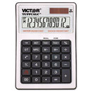 Victor VCT99901 Tuffcalc Desktop Calculator, 12-Digit Lcd