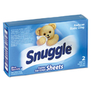 Snuggle VEN2979929 Vend-Design Fabric Softener Sheets, Blue Sparkle, 2 Sheets/box, 100 Boxes/carton