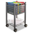 Vertiflex VRTVF52002 Sidekick File Cart, One-Shelf, 13 3/4w X 15 1/2d X 26 1/4h, Matte Gray