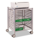 Vertiflex VRTVF52004 Deskside Machine Stand, Two-Shelf, 21 1/2w X 17 7/8d X 27h, Matte Gray