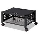 Vertiflex VRTVF52009 Underdesk Machine Stand, One-Shelf, 21 1/2w X 17 7/8d X 11 1/2h, Black