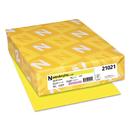 Neenah Paper WAU21021 Colored Card Stock, 65lb, 8 1/2 X 11, Lift-Off Lemon, 250 Sheets