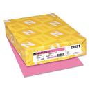 Neenah Paper WAU21031 Color Paper, 24lb, 8 1/2 X 11, Pulsar Pink, 500 Sheets