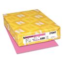 Neenah Paper WAU21041 Colored Card Stock, 65lb, 8 1/2 X 11, Pulsar Pink, 250 Sheets