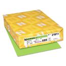 Neenah Paper WAU21811 Colored Card Stock, 65lb, 8 1/2 X 11, Martian Green, 250 Sheets