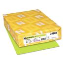Neenah Paper WAU21869 Colored Card Stock, 65lb, 8 1/2 X 11, Vulcan Green, 250 Sheets