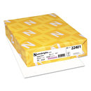 WAUSAU PAPERS WAU22401 Colored Card Stock, 65lb, 8-1/2 X11, Stardust White, 250 Sheets