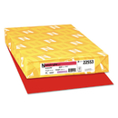 Neenah Paper WAU22553 Color Paper, 24lb, 11 X 17, Re-Entry Red, 500 Sheets