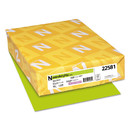 WAUSAU PAPERS WAU22581 Color Paper, 24lb, 8 1/2 X 11, Terra Green, 500 Sheets