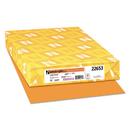 Neenah Paper WAU22653 Color Paper, 24lb, 11 X 17, Cosmic Orange, 500 Sheets