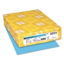 WAUSAU PAPERS WAU22721 Colored Card Stock, 65lb, 8 1/2 X 11, Lunar Blue, 250 Sheets