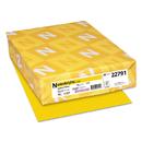 Neenah Paper WAU22791 Colored Card Stock, 65lb, 8 1/2 X 11, Sunburst Yellow, 250 Sheets