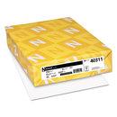 Neenah Paper WAU40311 Exact Index Card Stock, 90lb, 94 Bright, 8 1/2 X 11, White, 250 Sheets