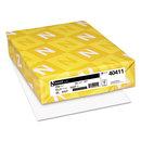 Neenah Paper WAU40411 Exact Index Card Stock, 110lb, 94 Bright, 8 1/2 X 11, White, 250 Sheets