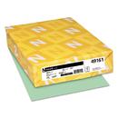 Neenah Paper WAU49161 Exact Index Card Stock, 90lb, 8 1/2 X 11, Green, 250 Sheets
