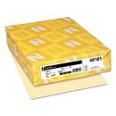 Neenah Paper WAU49181 Exact Index Card Stock, 90lb, 8 1/2 X 11, Ivory, 250 Sheets