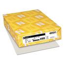 Neenah Paper WAU49591 Exact Index Card Stock, 110lb, 8 1/2 X 11, Gray, 250 Sheets