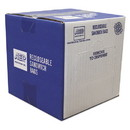 Handi-Bag WBIZIP1SS500 Recloseable Zipper Seal Sandwich Bags, 1.15 mil, 6.5
