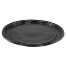 WNA WNAA512PBL Caterline Casuals Thermoformed Platters, Pet, Black, 12