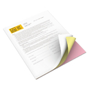 Xerox XER3R12426 Bold Digital Carbonless Paper, 8 1/2 X 11, White/canary/pink, 2505 Sheets/ct