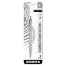Zebra ZEB29411 F-701 Retractable Ballpoint Pen, 0.7mm, Black Ink, Fine