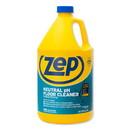 Zep Commercial ZUNEUT128 Neutral Floor Cleaner, Fresh Scent, 1 gal, 4/Carton