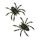 US TOY 1063 Painted Spiders