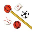 U.S. Toy 1169 Sport Eraser Pencil Tops