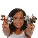 U.S. Toy 1463 Wild Animal Finger Puppets