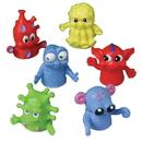 U.S. Toy 1471 Big Eyed Monster Finger Puppets