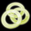 U.S. Toy 2009 Glow Loop Flying Discs