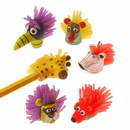 US TOY 2152 Wild Animal Pencil Toppers