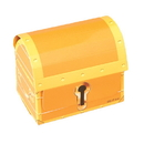 US TOY 2191 Paper Treasure Chests
