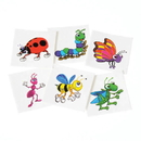 U.S. Toy 223 Insect Temporary Tattoos