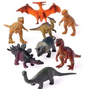 U.S. Toy 2383 Toy Dinosaurs / 3.5 in.
