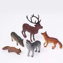U.S. Toy 2482 Woodland Toy Animals