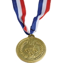 US TOY 2543 Olympic Style Plastic Gold Medals