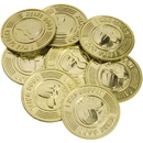 U.S. Toy 334 Being Good Plastic Coins