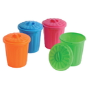 U.S. Toy 3527 Mini Garbage Cans