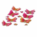 U.S. Toy 4173 3-D Butterfly Stickers / 6 Cards