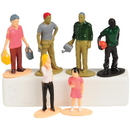 US TOY 4184 Multicultural Family Figures