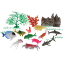 U.S. Toy 4245 Ocean Animal & Plant Set / 20-Pc