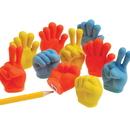 U.S. Toy 4314 Hand Shaped Sharpeners / Erasers