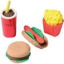 U.S. Toy 4320 Junk Food 3D Erasers