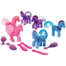 U.S. Toy 4490 Pony with Comb / 6-sets