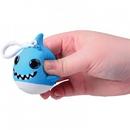 U.S. Toy 4640 Squishy Shark w/ Glitter Eyes