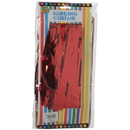 U.S. Toy 5415-04 Hanging Curtain / Red
