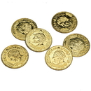 U.S. Toy 578 Plastic Gold Coins